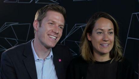 Bianca Schwarzjirg und Florian Danner