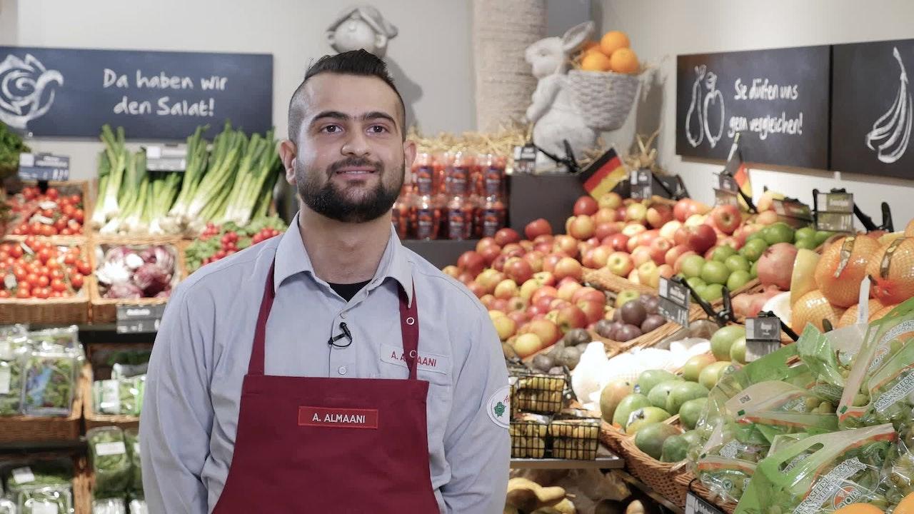Abdulrahman Almaani Auszubildender Kaufmann Im Einzelhandel Edeka