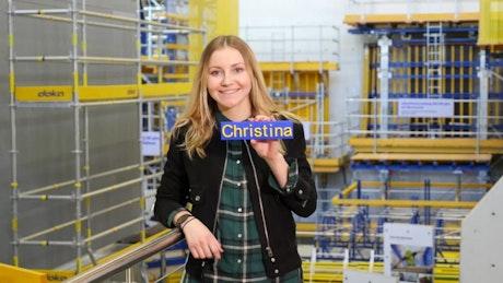Ein Tag mit Christina Schoder Projekttechnikerin